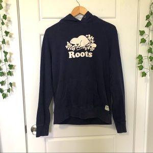 Roots    Navy Hoodie